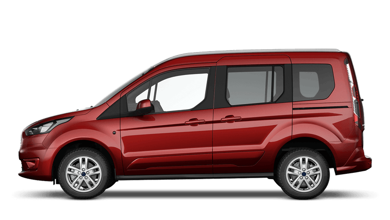 Kapoor Red (Special Metallic) Ford Tourneo Connect