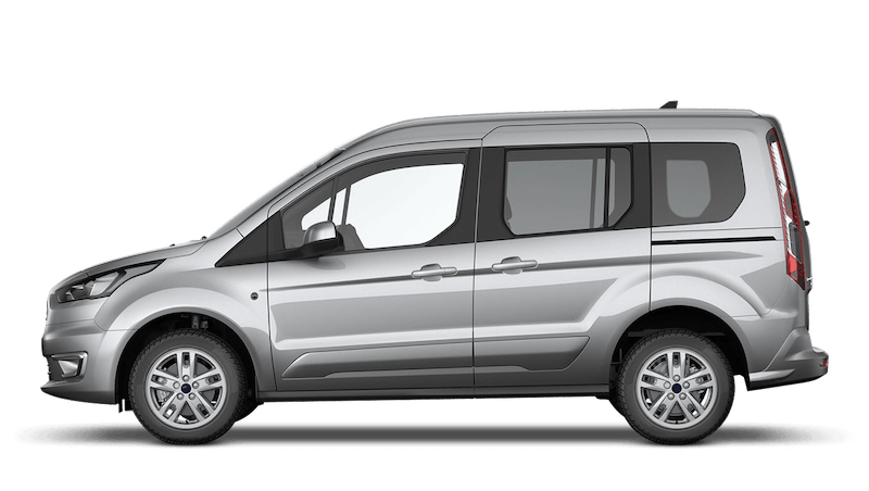 Moondust Silver (Metallic) Ford Tourneo Connect