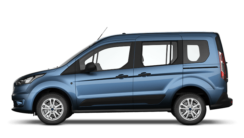 Chrome Blue (Metallic) Ford Tourneo Connect