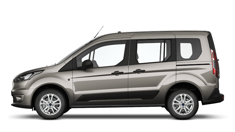 Diffused Silver (Special Metallic) Ford Tourneo Connect