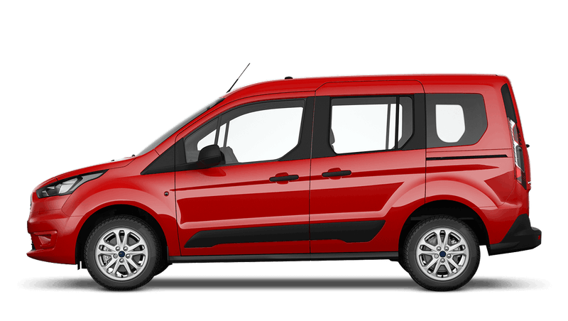 Race Red (Solid) Ford Tourneo Connect