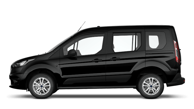 Shadow Black (Metallic) Ford Tourneo Connect