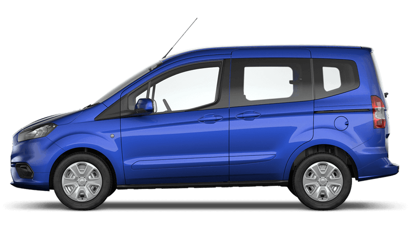 Deep Impact Blue (Metallic) New Ford Tourneo Courier