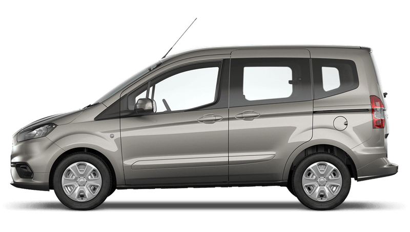 Diffused Silver (Metallic) New Ford Tourneo Courier