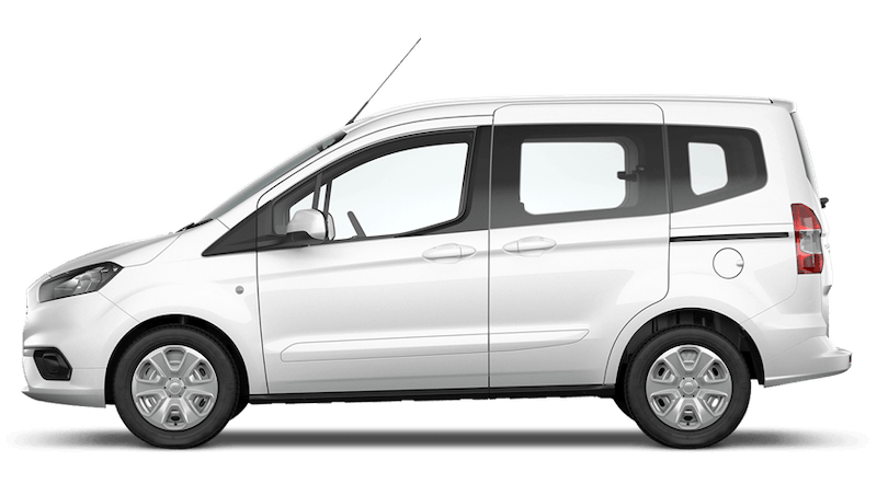 Frozen White (Solid) New Ford Tourneo Courier