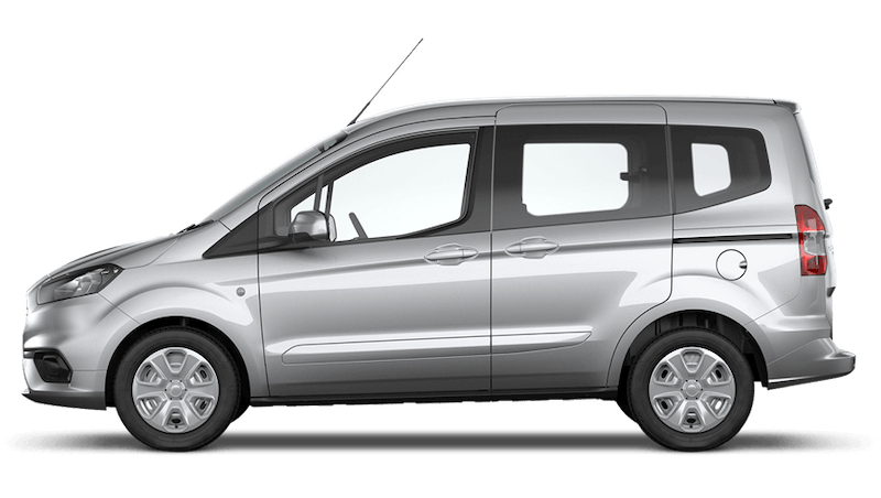 Moondust Silver (Metallic) New Ford Tourneo Courier