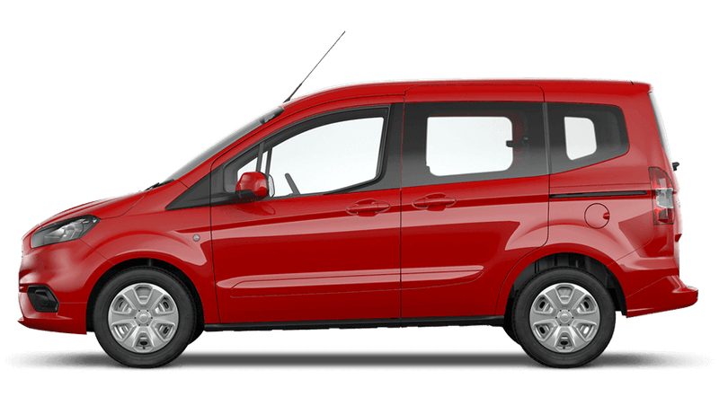 Race Red (Solid) New Ford Tourneo Courier