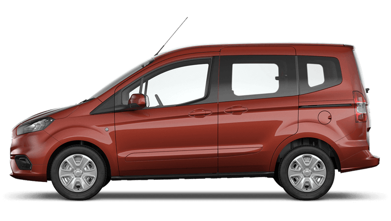 Red Rush (Metallic) New Ford Tourneo Courier