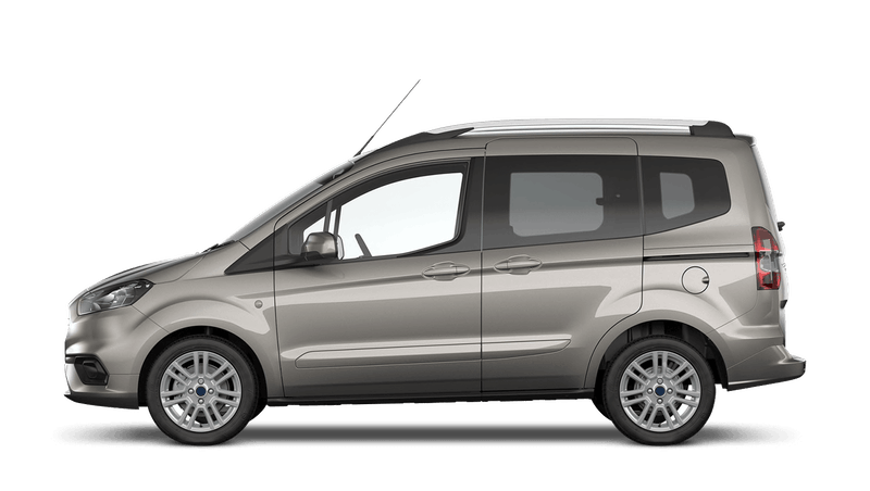 Diffused Silver (Metallic) Ford Tourneo Courier