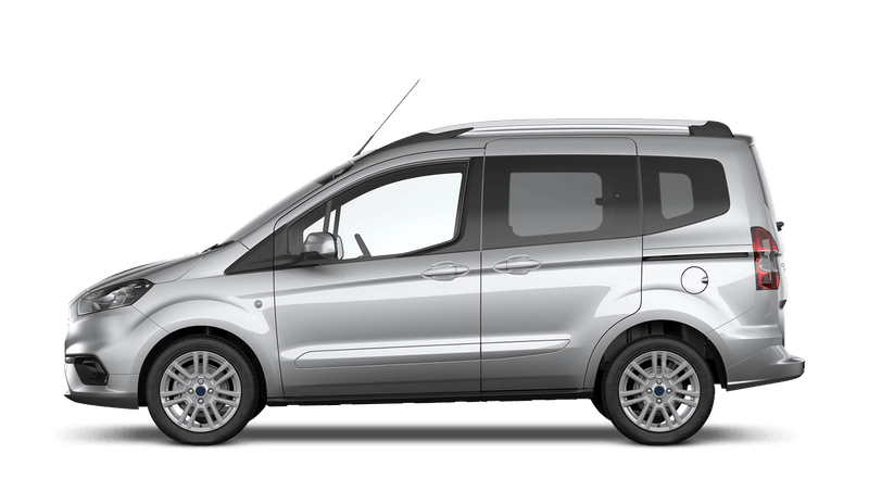 Moondust Silver (Metallic) Ford Tourneo Courier