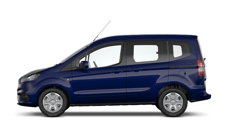 Blazer Blue (Solid) Ford Tourneo Courier