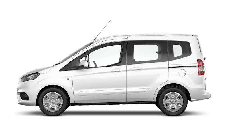 Frozen White (Solid) Ford Tourneo Courier