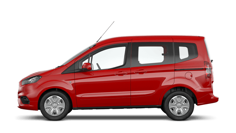 Race Red (Solid) Ford Tourneo Courier