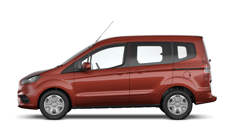 Red Rush (Metallic) Ford Tourneo Courier