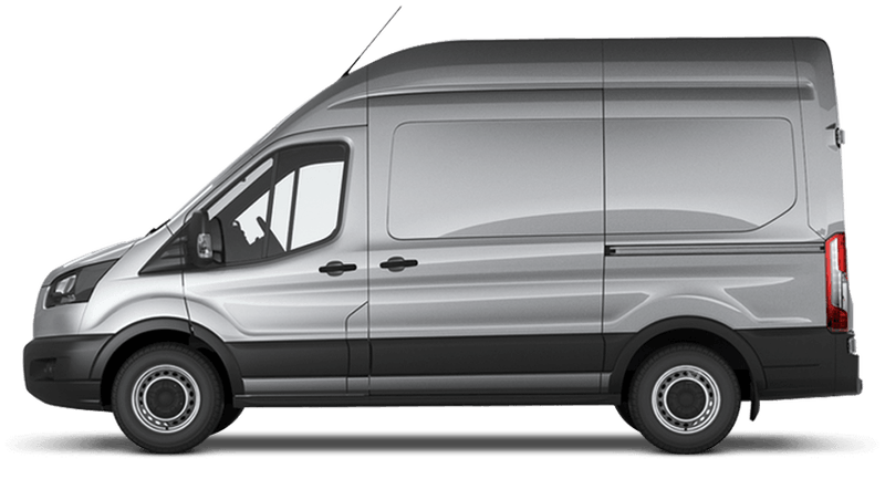 Moondust Silver (Metallic) Ford Transit