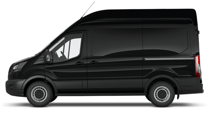 Shadow Black (Metallic) Ford Transit