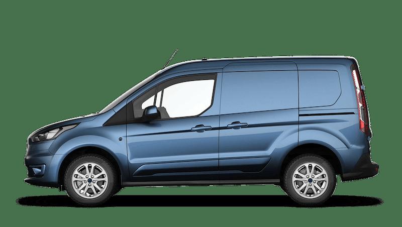 Chrome Blue (Metallic) Ford Transit Connect