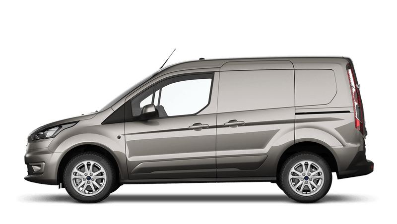 Diffused Silver (Metallic) Ford Transit Connect