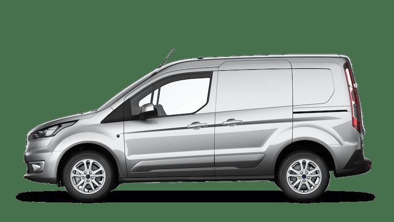 Moondust Silver (Metallic) Ford Transit Connect