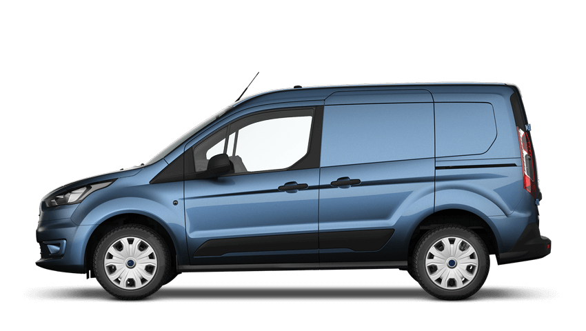 Chrome Blue (Metallic) Ford Transit Connect