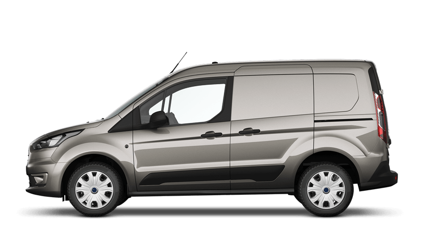 Diffused Silver Ford Transit Connect
