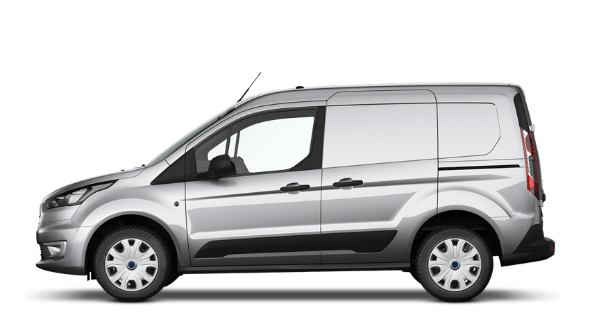 Moondust Silver Ford Transit Connect