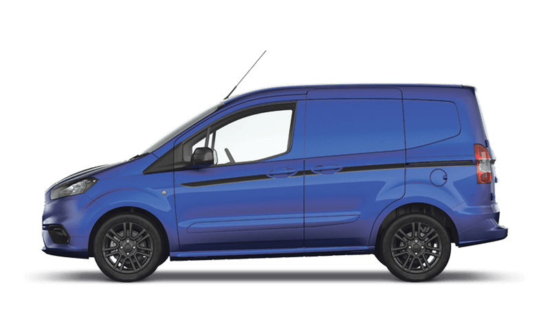 Deep Impact Blue (Metallic) New Ford Transit Courier