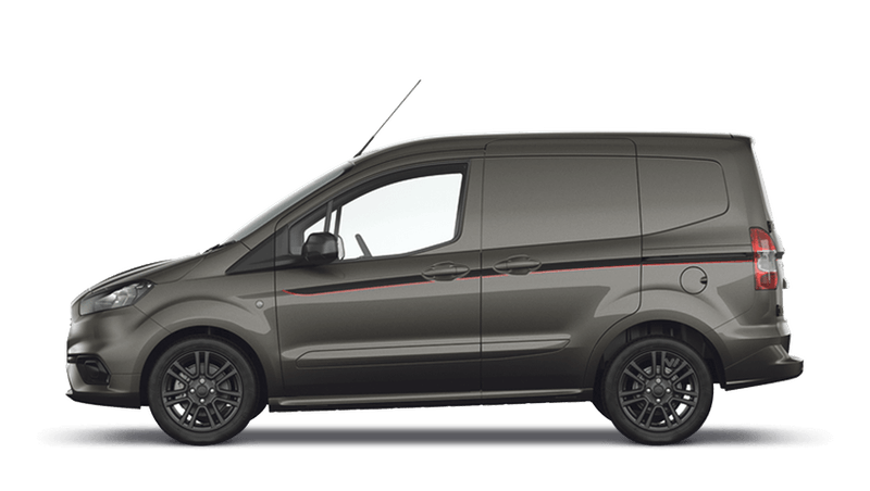 Magnetic (Metallic) New Ford Transit Courier