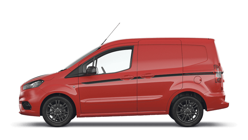 Race Red (Solid) New Ford Transit Courier