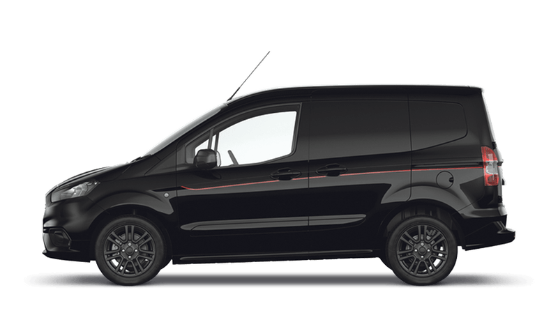 Shadow Black (Mica) New Ford Transit Courier