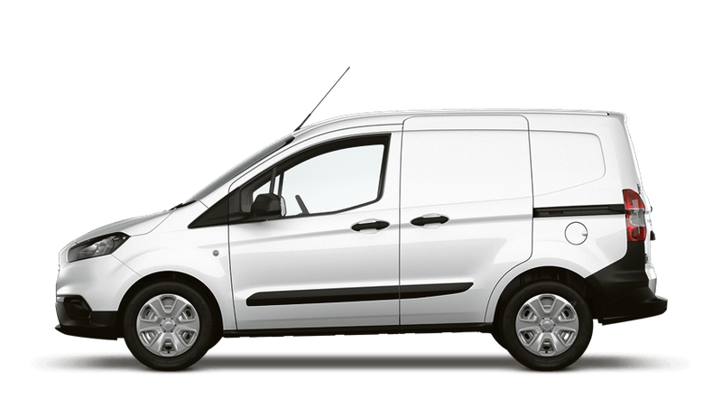 Frozen White (Solid) New Ford Transit Courier