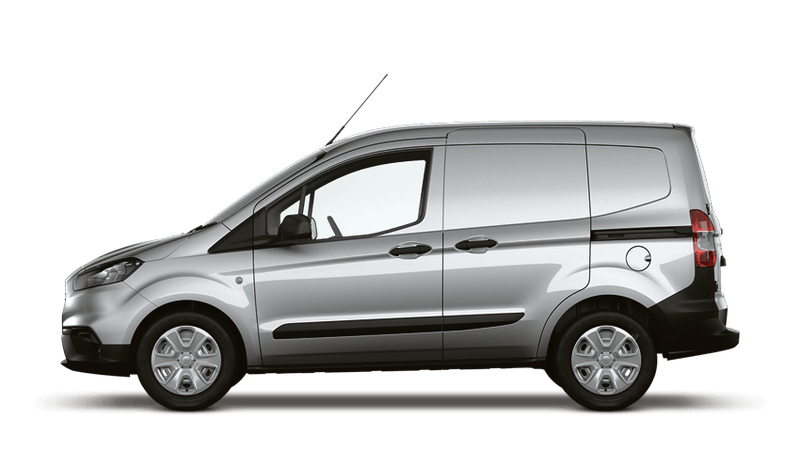 Moondust Silver (Metallic) New Ford Transit Courier