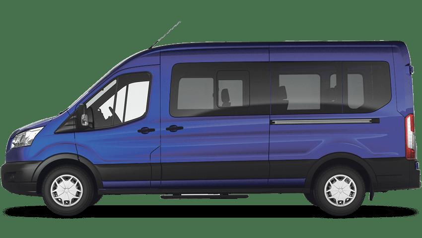 Deep Impact Blue (Metallic) Ford Transit MINIbus