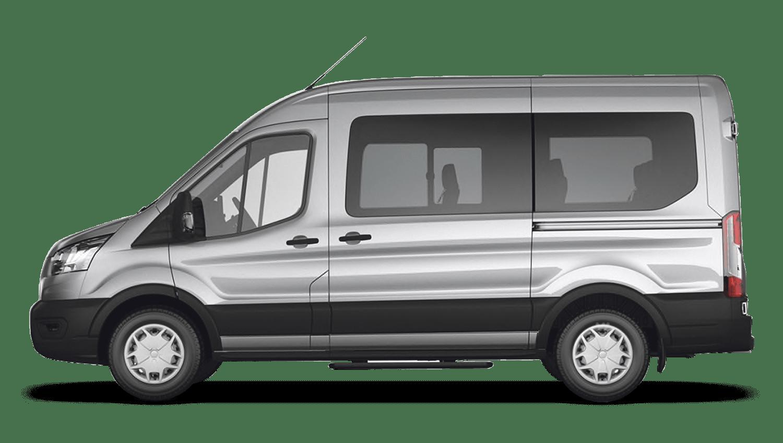 Moondust Silver (Metallic) Ford Transit MINIbus