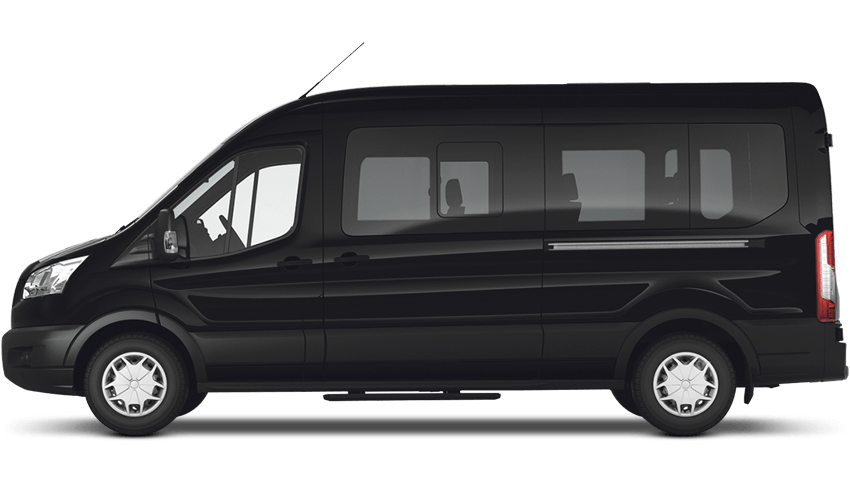 Shadow Black (Mica) Ford Transit MINIbus