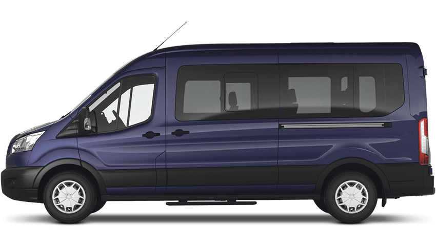 Stratosphere (Metallic) Ford Transit MINIbus