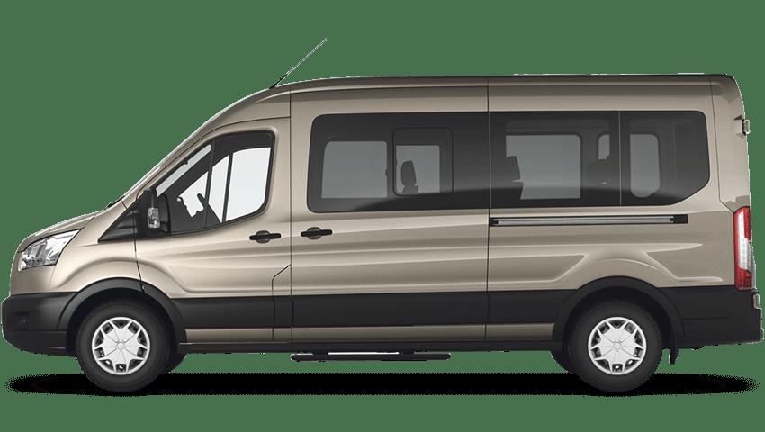 Tectonic Silver (Metallic) Ford Transit MINIbus