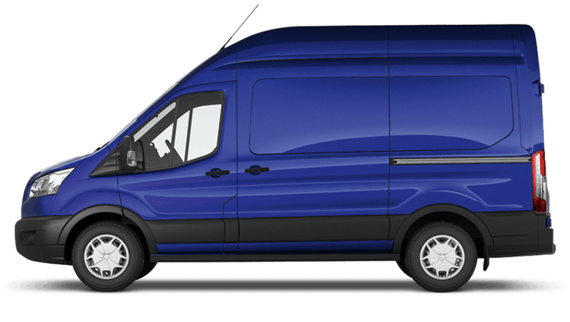 Deep Impact Blue (Metallic) Ford Transit