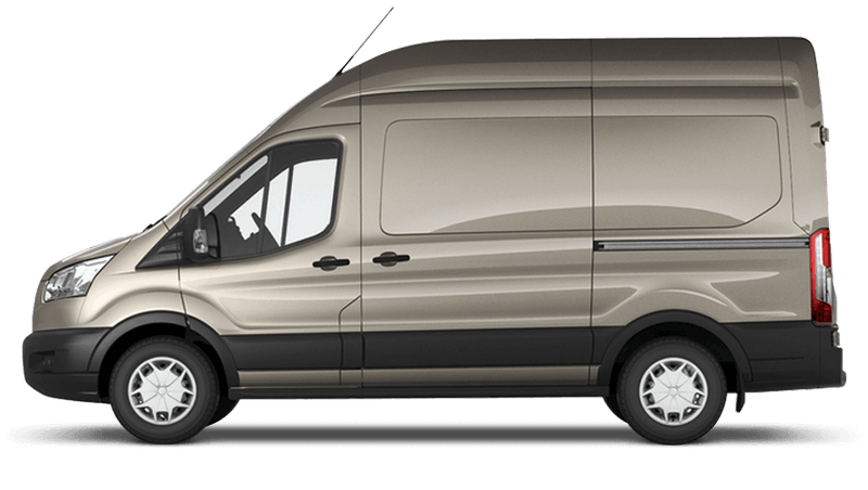 Tectonic Silver (Metallic) Ford Transit