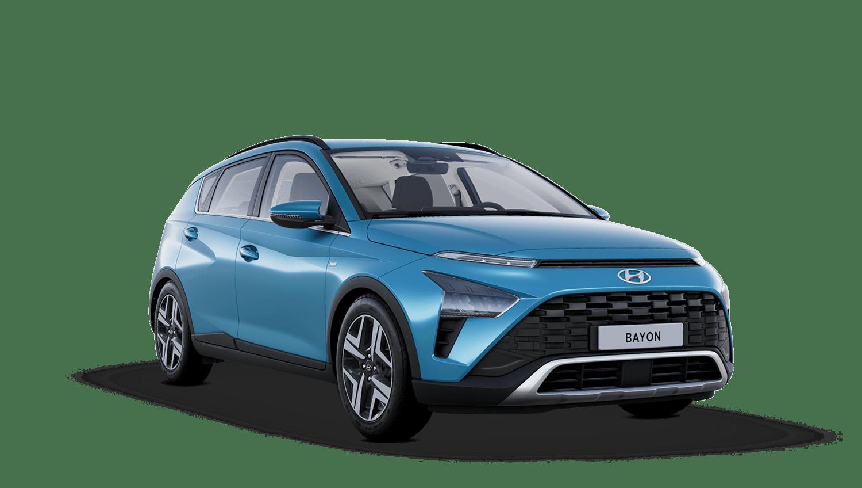 Aqua Turquoise Hyundai Bayon