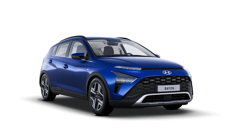 Intense Blue Hyundai Bayon