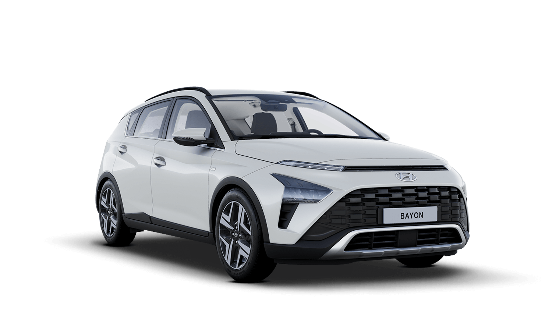 Polar White Hyundai Bayon