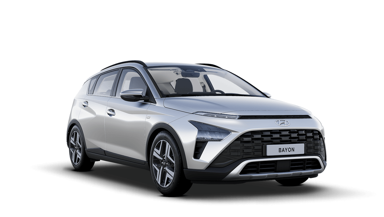 Sleek Silver Hyundai Bayon