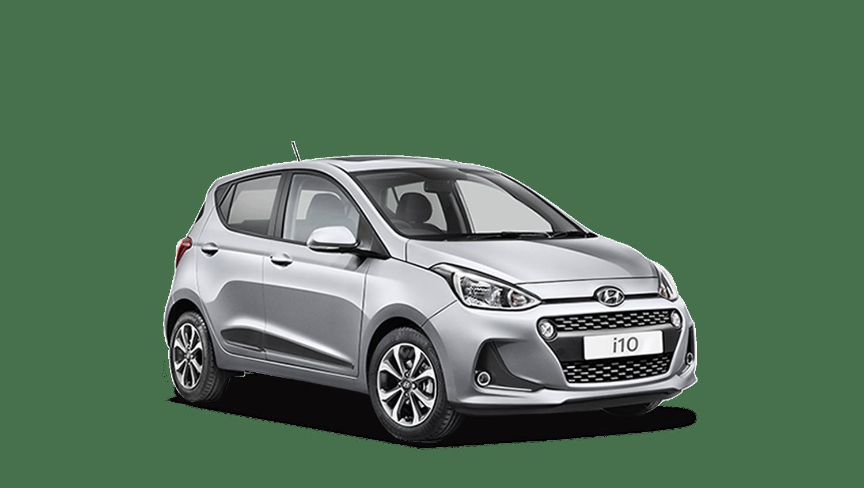 Sleek Silver Hyundai i10