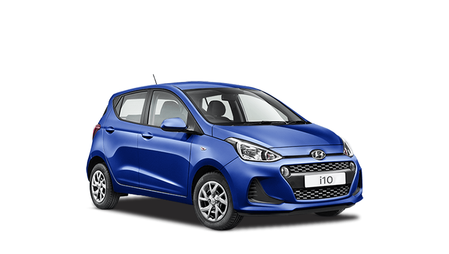 Champion Blue Hyundai i10