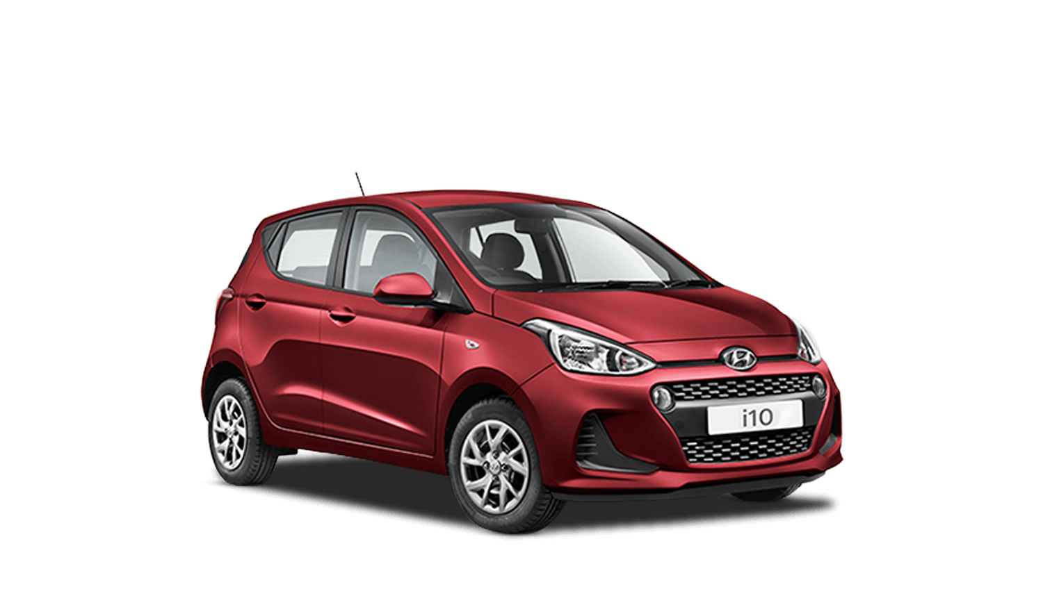 Passion Red Hyundai i10