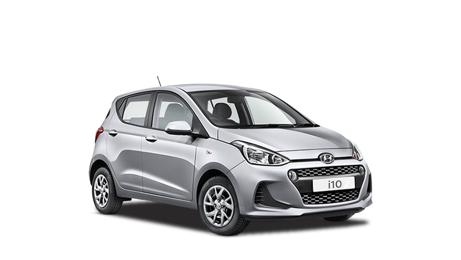 Sleek Silver Hyundai i10