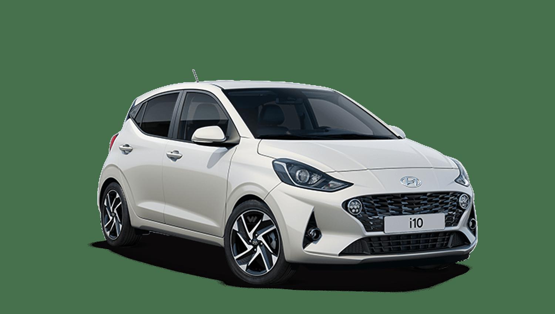 Polar White Hyundai I10 New