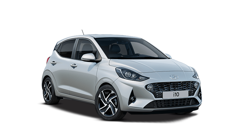 Sleek Silver Hyundai I10 New