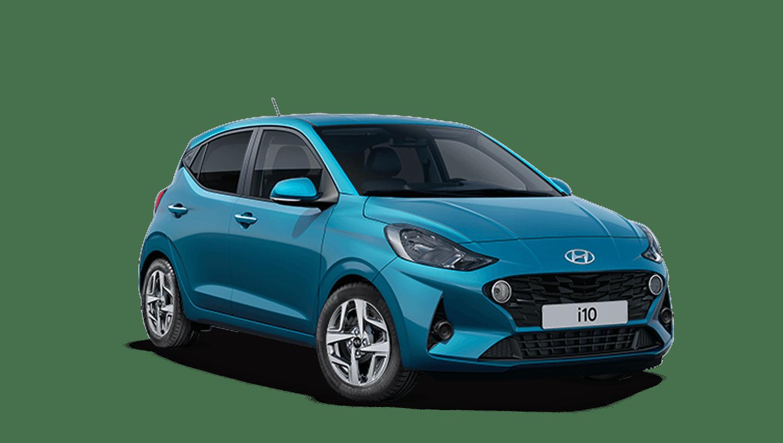 Aqua Turquoise Hyundai I10 New